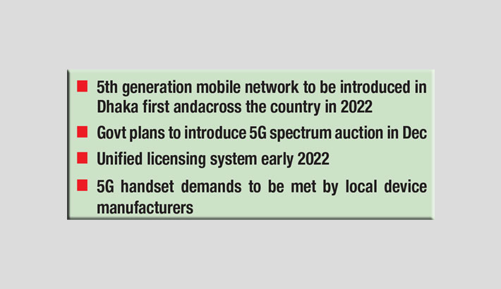 Bangladesh to roll out 5G on December 16