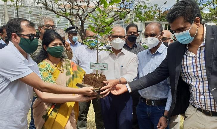 Plantation of 47 trees on 47th Anniversary of Bangabandhu's Historical Speech in Bangla at UN