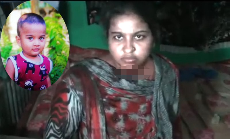 Mother attempts suicide after 'killing son' in Laxmipur