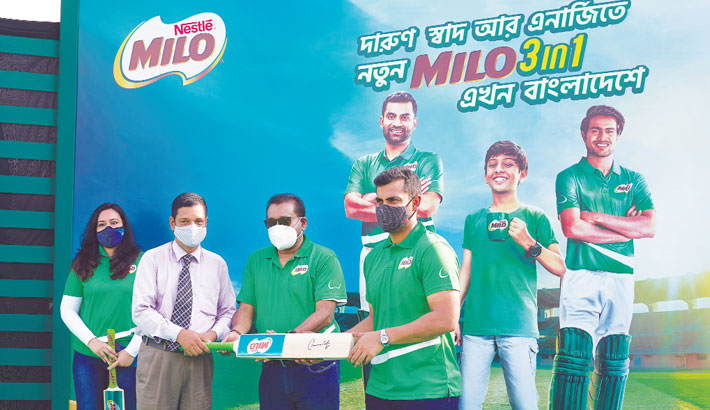 Tamim Iqbal teams up with Nestlé's Milo