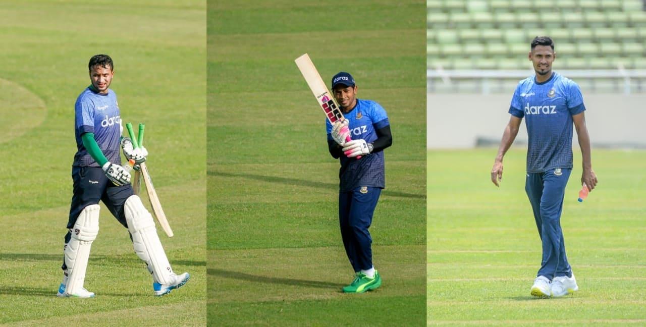 Bangladeshi trio in Wisden's Asia ODI XI