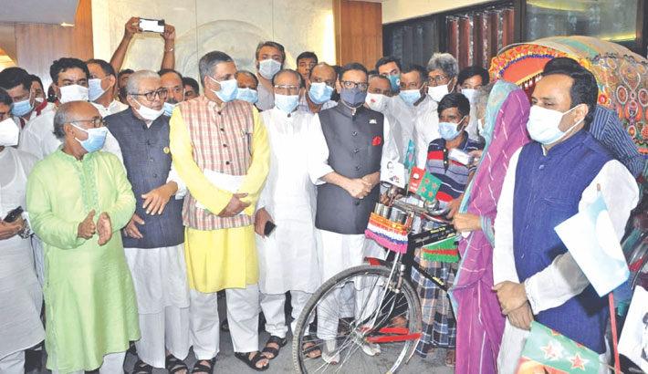 AL to give befitting reply to BNP: Quader