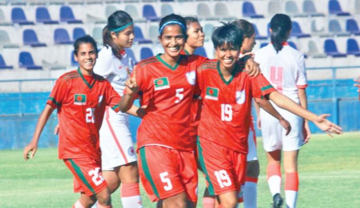 Sabina hat-trick fires Bangladesh to victory over Hong Kong in friendly