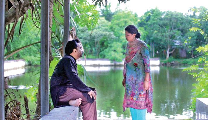 The 300th episode of drama serial 'Baker Khoni' will be aired on Maasranga TV at 09:20pm today. Written by Mezbahuddin Sumon and directed by Nazrul Islam Raju, the play stars Mir Sabbir, Shaju Khadem, Tasnuva Tisha, Nabila Islam, Rosey Siddiqui, Lutfor Rahman George, Shilpi Sarker and others.