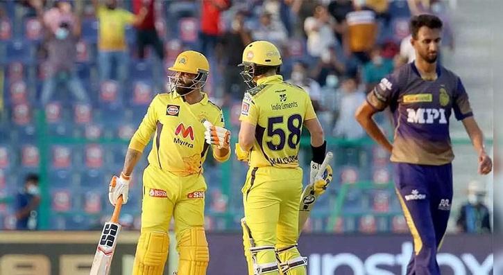 Jadeja cameo helps Chennai win last-ball IPL thriller