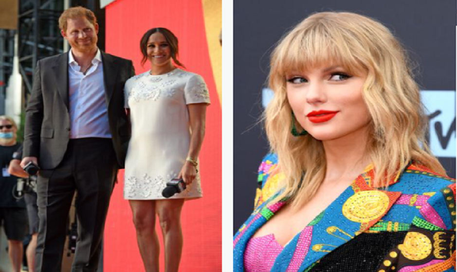 Taylor Swift gave up bodyguards to Prince Harry and Meghan on New York tour