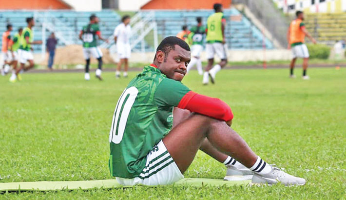 Kingsley not included in final SAFF squad