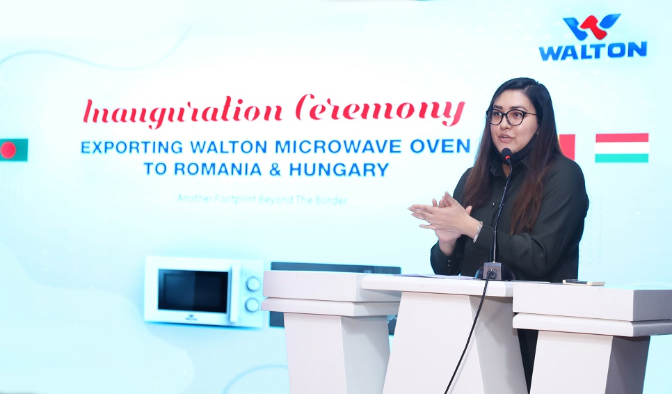 Walton starts Microwave Oven exports to Europe
