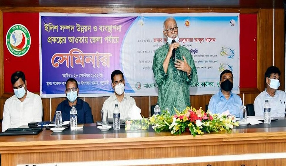 Govt takes projects to boost hilsa production: Khaleque