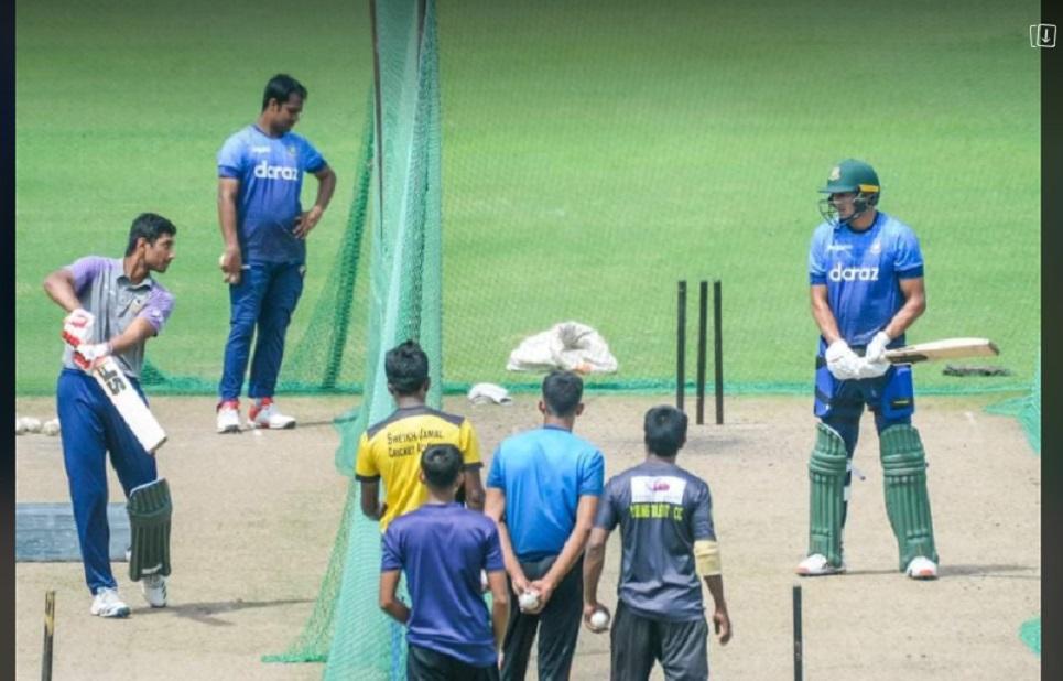 Taskin learns batting lesson from Mahmudullah