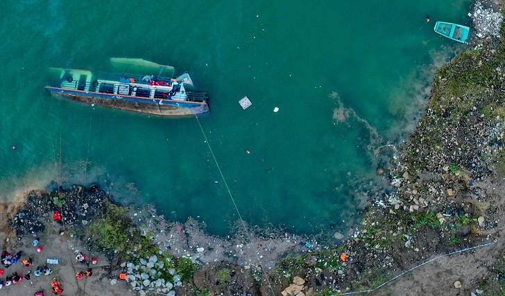 12 killed after passenger ship capsizes in China's Guizhou