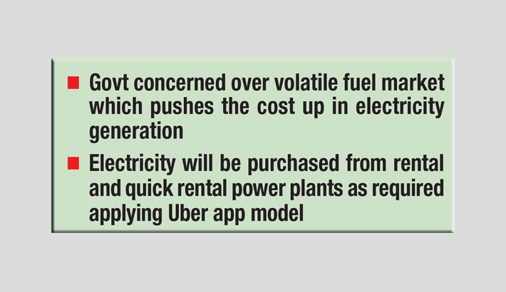 Plan for Uber model to buy electricity