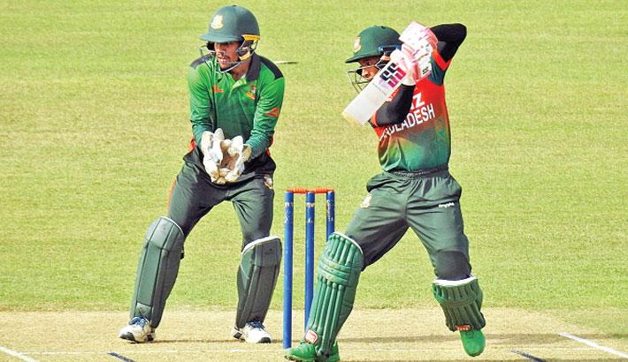 Mushfiq shines in 50-over contest