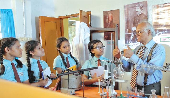 Children drama serial 'Nayantara Bidyaloy'