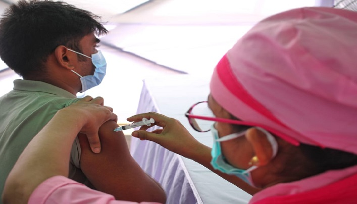Hasina's 'haseen' birthday gift: Over 66 lakh inoculations in single day