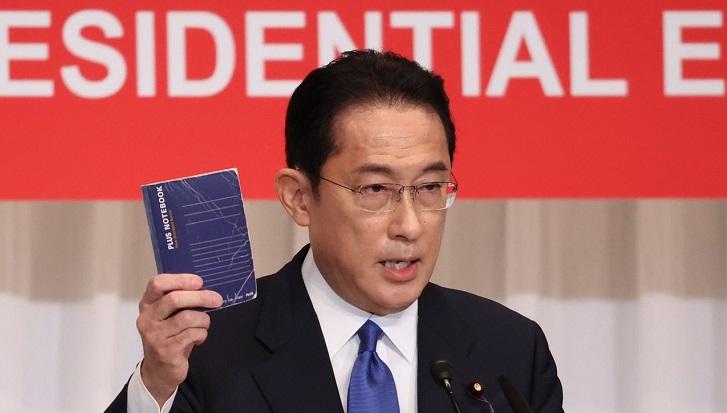 Japan ruling party elects Fumio Kishida leader, next PM