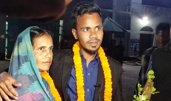 Jhumon Das walks out of jail after six months