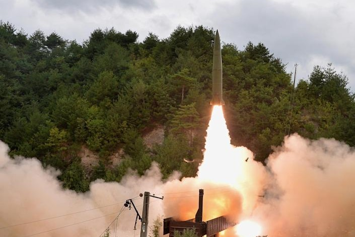 North Korea says hypersonic missile made 1st test flight