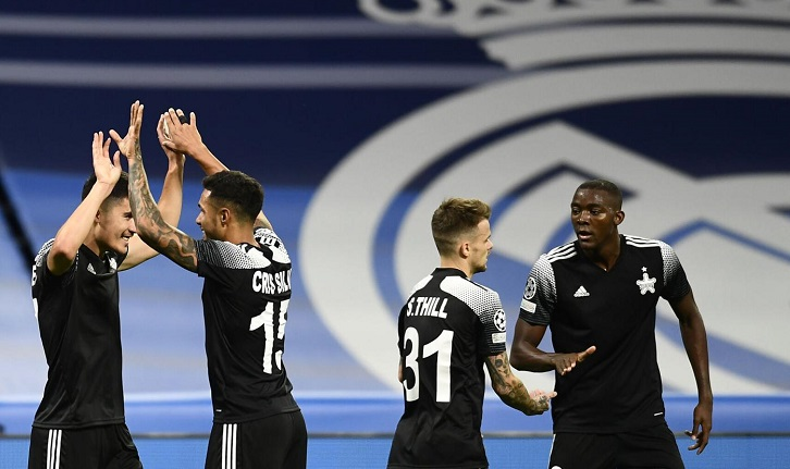 Newcomer Sheriff stuns Real Madrid 2-1 in Champions League