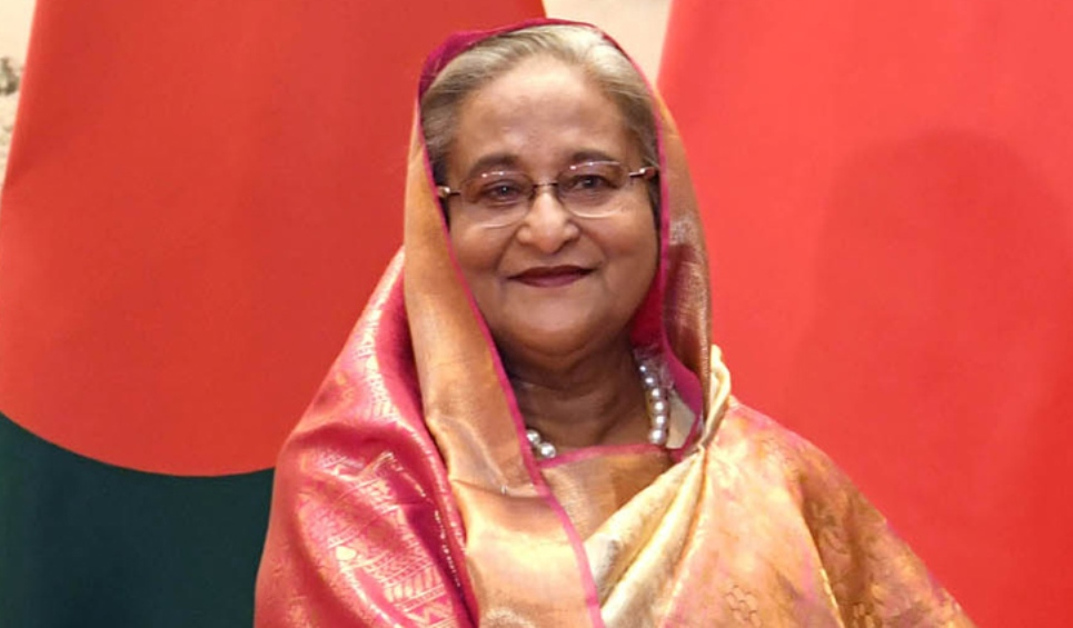PM Hasina arrives in Finland on way back home
