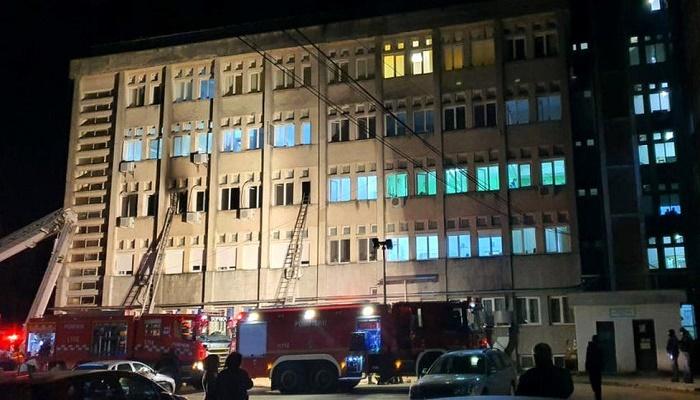 Fire in Romanian hospital kills at least 9 people