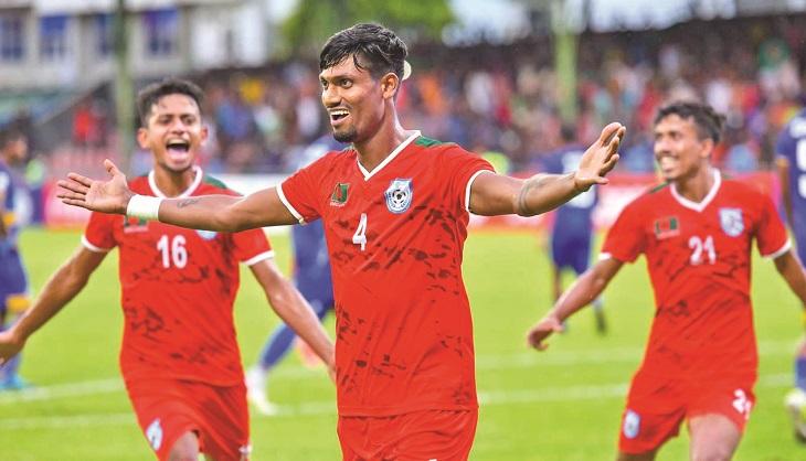 Bangladesh beat Sri Lanka by 1-0 in SAFF opener