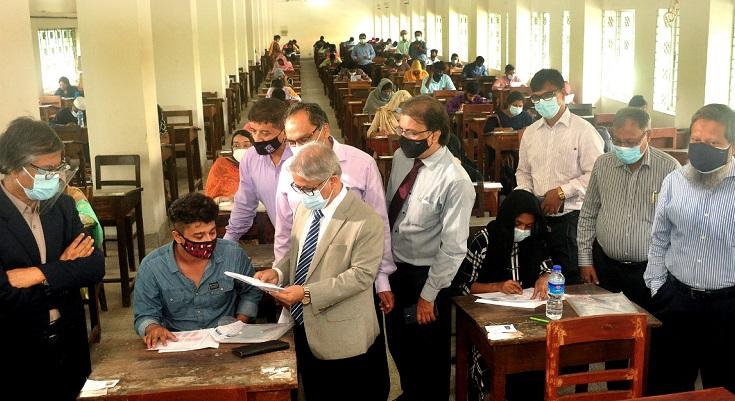 Dhaka University's 'Kha' unit admission test held