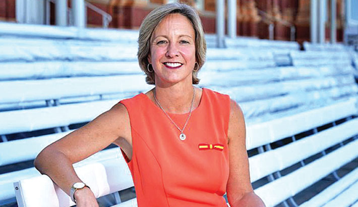 Clare steps up as MCC's first female President