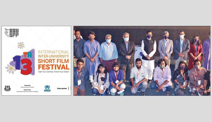 Curtain falls on 13th Int'l Inter University Short Film Fest