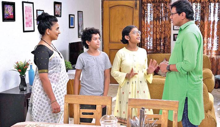 BTV's children drama serial 'Bindu Bindu Goyendagiri'