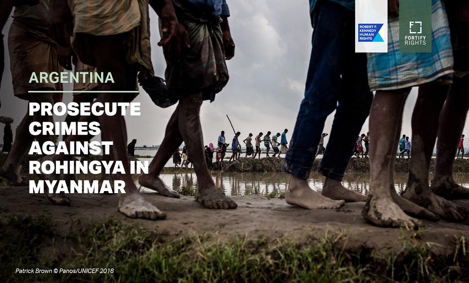 Argentina: Prosecute Crimes Against Rohingya in Myanmar