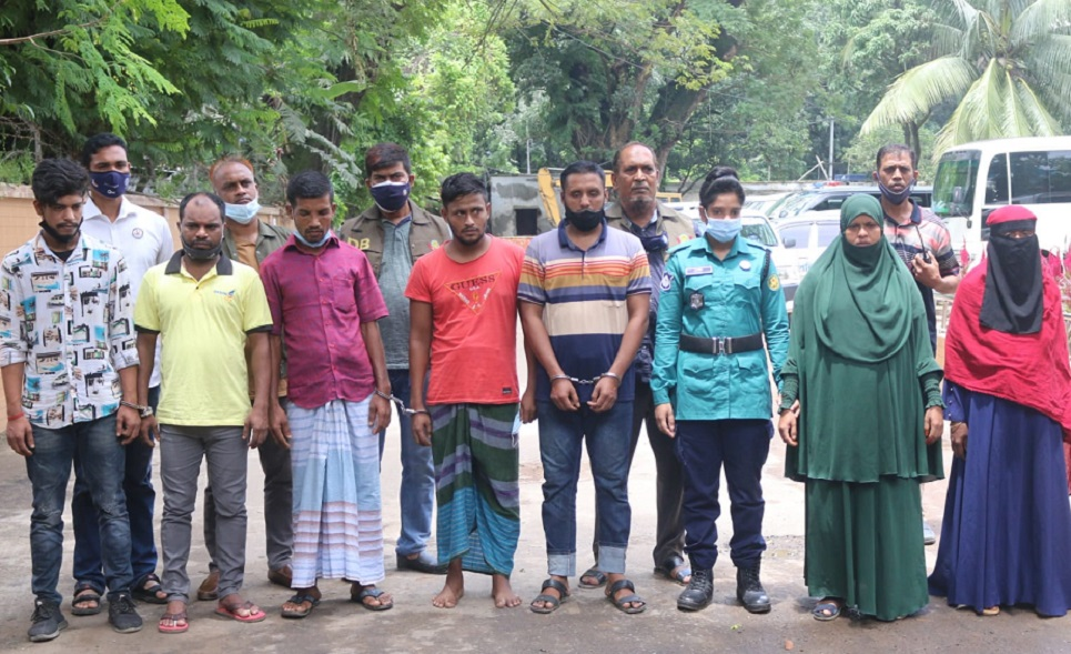 14,000 drug addicts, dealers arrested in eight months in city