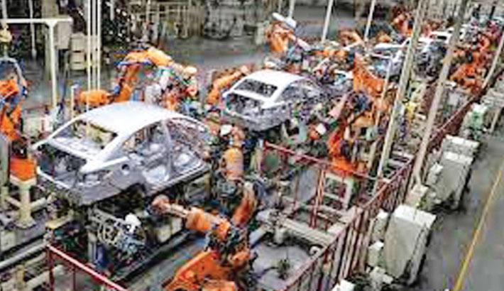 Asian factories stagnate as China's slowdown