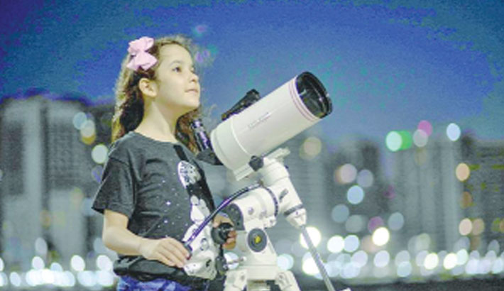 8-year-old girl dubbed world's youngest astronomer