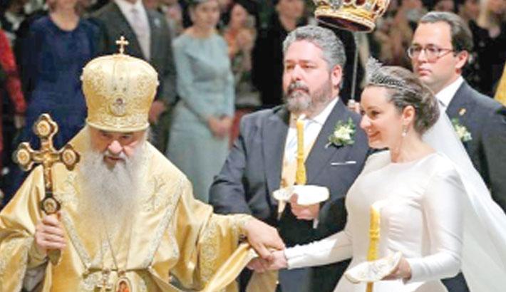 Lavish Russian wedding for Tsar's descendant