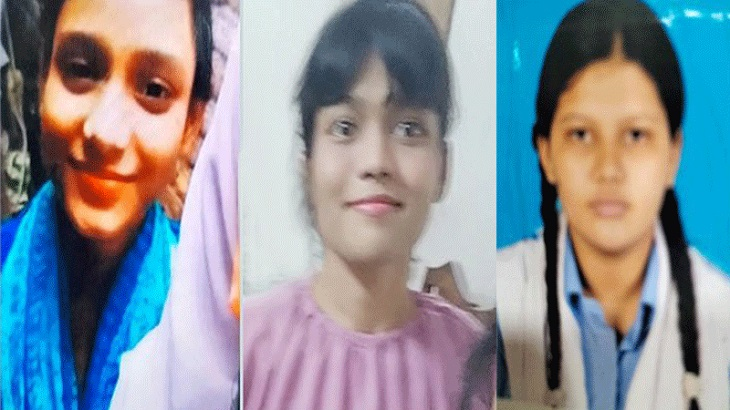 4 held over missing of 3 girls from Pallabi