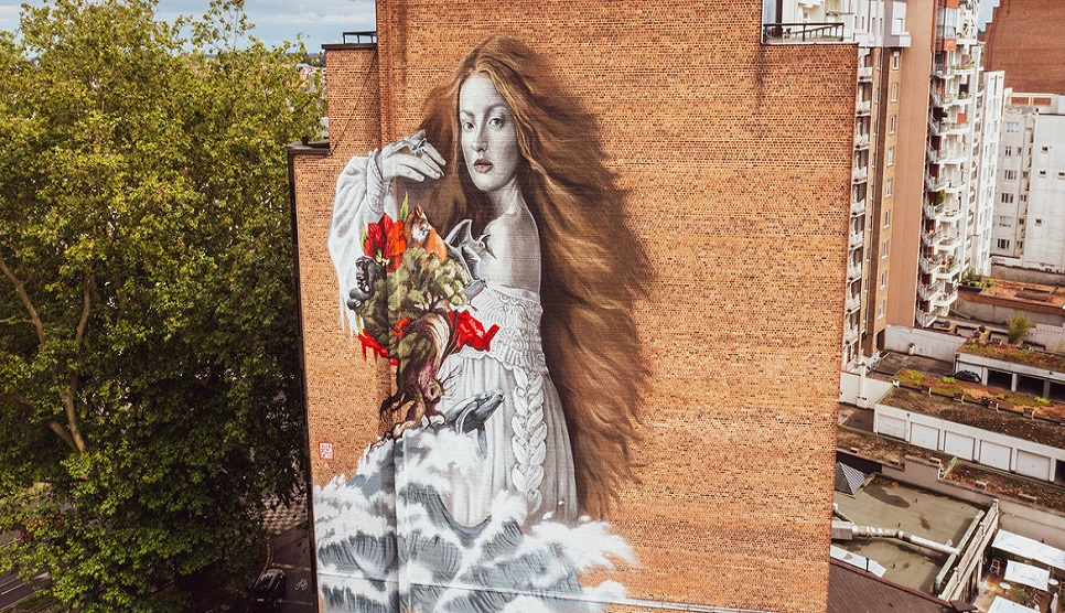 Brussels mural paints positive picture of ecosystem renewal