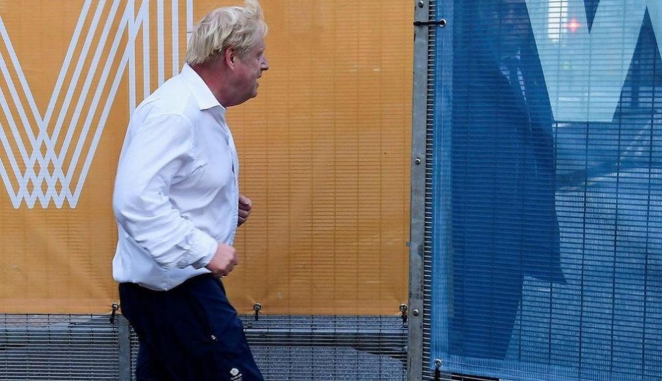 UK PM vows post-Covid economic boost