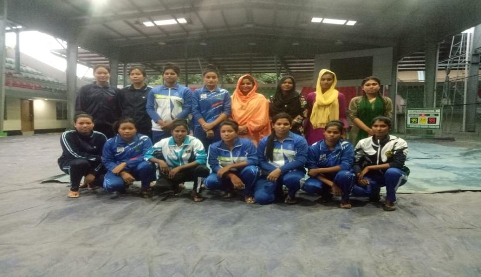 Women kabaddi camp begins