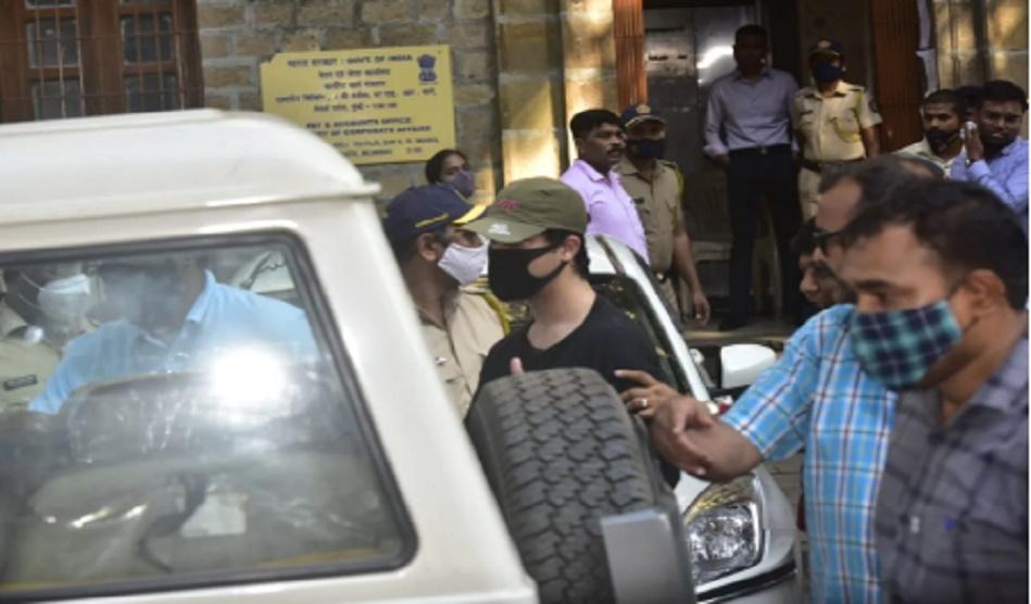Aryan Khan taken for medical checkup from NCB office