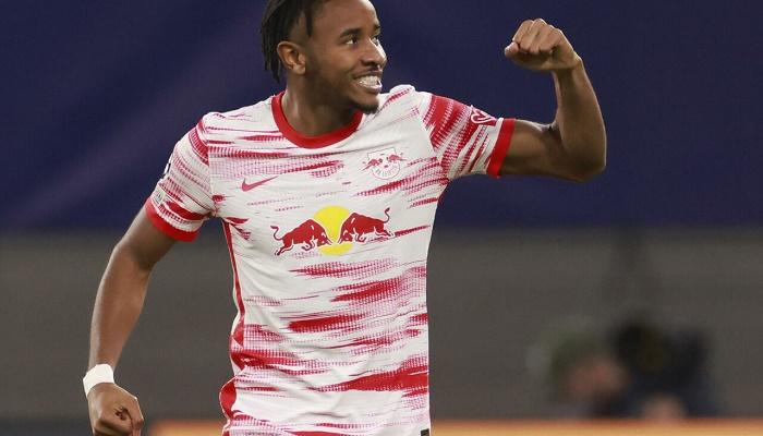 Nkunku strikes again as Leipzig win eases pressure on Marsch
