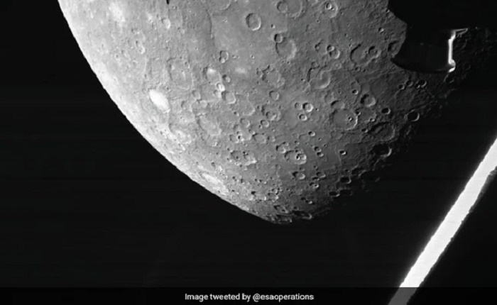 Europe-Japan space mission captures images of Mercury