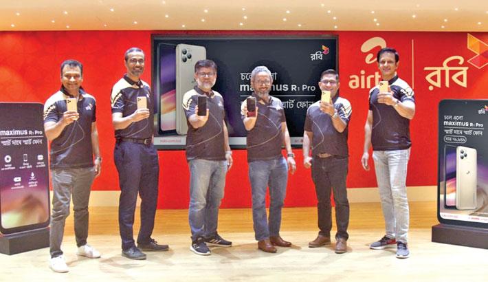 Robi's Maximus R1 Pro smartphone hits mkt