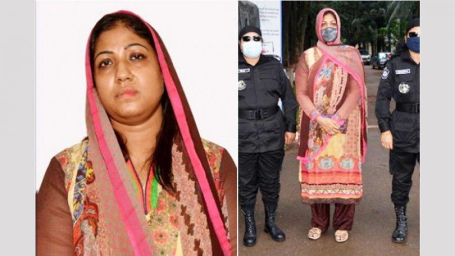 Kanak Sarwar's sister Raka put on 5-day remand
