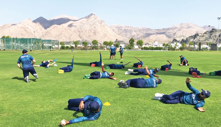 Tigers to play a practice game in Oman