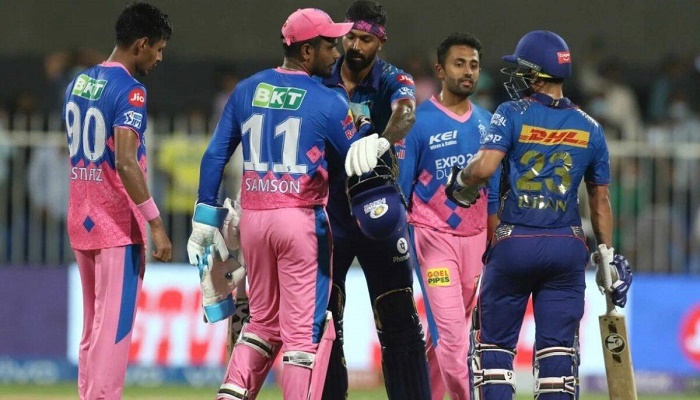 IPL 2021: Kishan, Coulter-Nile power Rohit's men to 8-wicket win over RR as MI keep playoff hopes alive