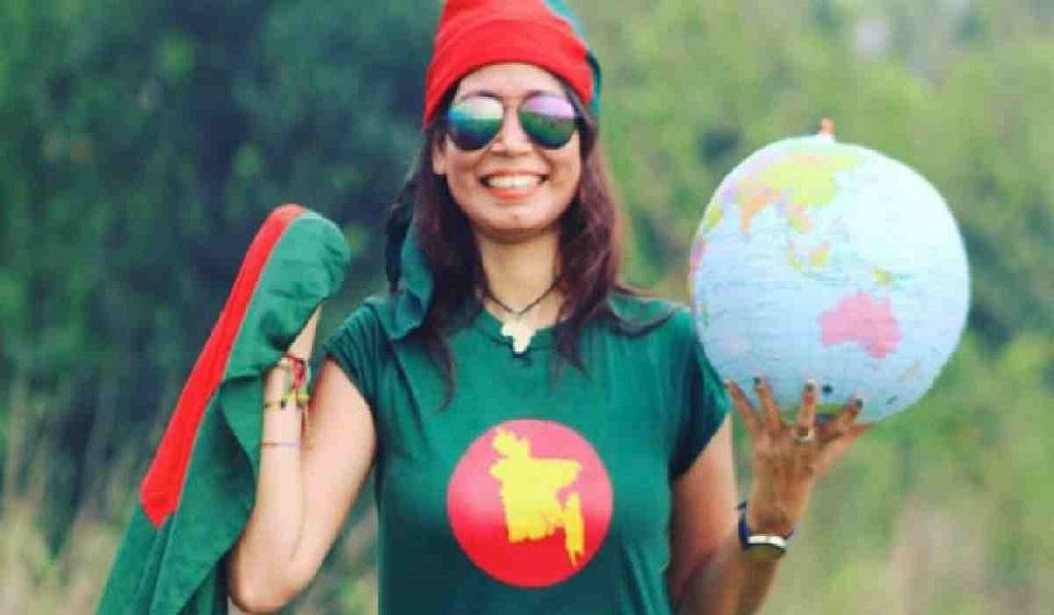 Bangladeshi globetrotter Najmun Nahar makes history with 150th country-visit