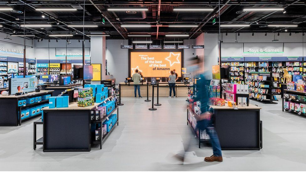 Amazon opens first UK non-food store