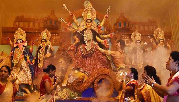 Bengali Hindus celebrate Mahalaya