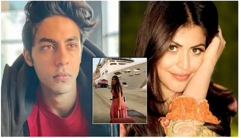 'Delhi Belly' actress Shenaz goes  on a tour of 'Cordelia Cruise' where Aryan was detained